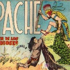 Tebeos: APACHE Nº 52 - LUIS BERMEJO - COL. JUNGLA - EDITORIAL MAGA 1958 - ORIGINAL, NO FACSIMIL. Lote 10996368