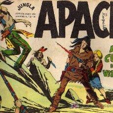 Tebeos: APACHE Nº 53 - LUIS BERMEJO - COL. JUNGLA - EDITORIAL MAGA 1958 - ORIGINAL, NO FACSIMIL. Lote 10996381