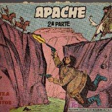 Tebeos: APACHE Nº 23 2ª PARTE - TINOCO - COL. JUNGLA - EDITORIAL MAGA 1959 - ORIGINAL, NO FACSIMIL. Lote 10996852