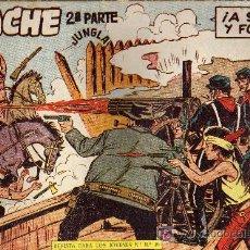 Tebeos: APACHE Nº 33 2ª PARTE - TINOCO - COL. JUNGLA - EDITORIAL MAGA 1959 - ORIGINAL, NO FACSIMIL. Lote 11007854