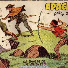 Tebeos: APACHE Nº 34 2ª PARTE - TINOCO - COL. JUNGLA - EDITORIAL MAGA 1959 - ORIGINAL, NO FACSIMIL. Lote 11007866