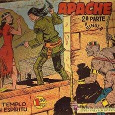 Tebeos: APACHE Nº 38 2ª PARTE - TINOCO - COL. JUNGLA - EDITORIAL MAGA 1959 - ORIGINAL, NO FACSIMIL. Lote 11007923