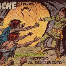 Tebeos: APACHE Nº 39 2ª PARTE - TINOCO - COL. JUNGLA - EDITORIAL MAGA 1959 - ORIGINAL, NO FACSIMIL. Lote 11007936