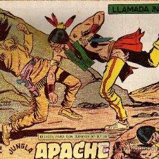Tebeos: APACHE Nº 49 2ª PARTE - TINOCO - COL. JUNGLA - EDITORIAL MAGA 1959 - ORIGINAL, NO FACSIMIL. Lote 11008097
