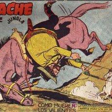 Tebeos: APACHE Nº 52 2ª PARTE - TINOCO - COL. JUNGLA - EDITORIAL MAGA 1959 - ORIGINAL, NO FACSIMIL. Lote 11008145