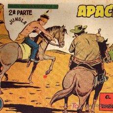 Tebeos: APACHE Nº 61 2ª PARTE - TINOCO - COL. JUNGLA - EDITORIAL MAGA 1959 - ORIGINAL, NO FACSIMIL. Lote 11008205