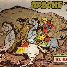 Tebeos: APACHE Nº 64 2ª PARTE - TINOCO - COL. JUNGLA - EDITORIAL MAGA 1959 - ORIGINAL, NO FACSIMIL. Lote 11008251