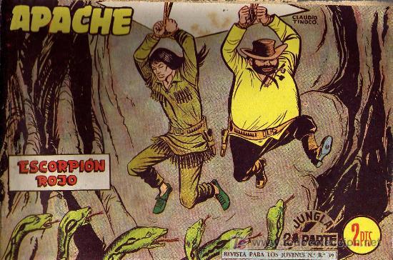 APACHE Nº 69 2ª PARTE - TINOCO - COL. JUNGLA - EDITORIAL MAGA 1959 - ORIGINAL, NO FACSIMIL (Tebeos y Comics - Maga - Apache)