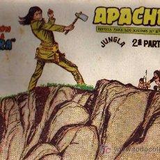 Tebeos: APACHE Nº 70 2ª PARTE - TINOCO - COL. JUNGLA - EDITORIAL MAGA 1959 - ORIGINAL, NO FACSIMIL. Lote 11008306