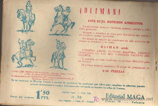 Tebeos: APACHE Nº 38 2ª PARTE - TINOCO - COL. JUNGLA - EDITORIAL MAGA 1959 - ORIGINAL, NO FACSIMIL - Foto 2 - 11007923