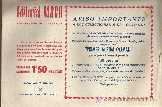 Tebeos: APACHE Nº 65 2ª PARTE - TINOCO - COL. JUNGLA - EDITORIAL MAGA 1959 - ORIGINAL, NO FACSIMIL - Foto 2 - 11008262