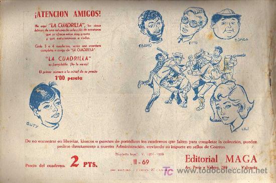 Tebeos: APACHE Nº 69 2ª PARTE - TINOCO - COL. JUNGLA - EDITORIAL MAGA 1959 - ORIGINAL, NO FACSIMIL - Foto 2 - 11008290