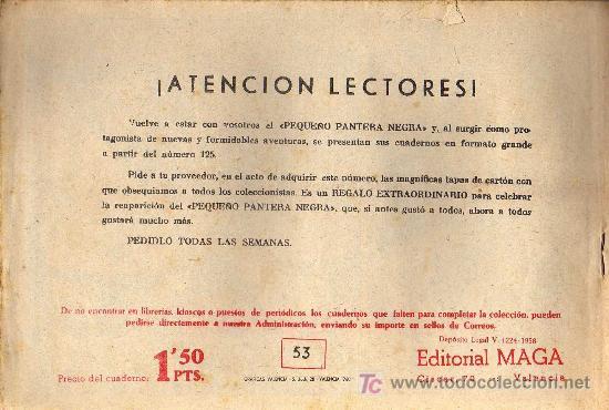 Tebeos: APACHE Nº 53 - LUIS BERMEJO - COL. JUNGLA - EDITORIAL MAGA 1958 - ORIGINAL, NO FACSIMIL - Foto 2 - 10996381