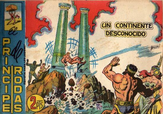 EL PRINCIPE DE RODAS - Nº 58 - LOPEZ BLANCO - ED. MAGA 1960 - ORIGINAL, NO FACSIMIL (Tebeos y Comics - Maga - Otros)