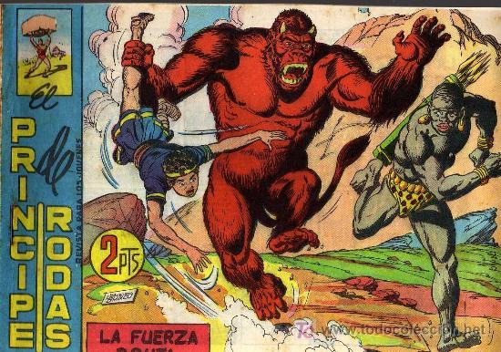 EL PRINCIPE DE RODAS - Nº 51 - LOPEZ BLANCO - ED. MAGA 1960 - ORIGINAL, NO FACSIMIL (Tebeos y Comics - Maga - Otros)