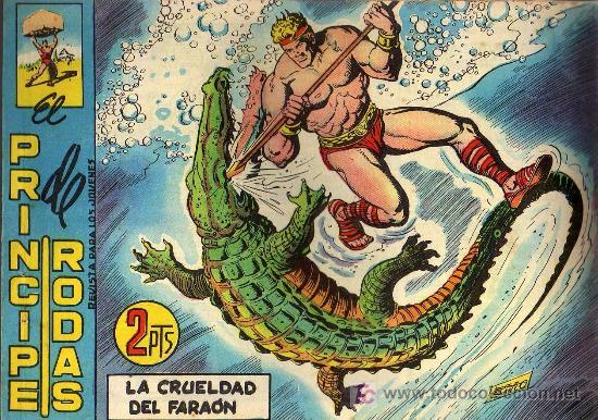 EL PRINCIPE DE RODAS - Nº 48 - LOPEZ BLANCO - ED. MAGA 1960 - ORIGINAL, NO FACSIMIL (Tebeos y Comics - Maga - Otros)