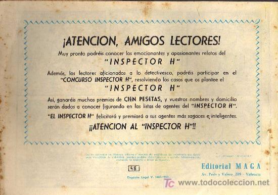 Tebeos: EL PRINCIPE DE RODAS - Nº 48 - LOPEZ BLANCO - ED. MAGA 1960 - ORIGINAL, NO FACSIMIL - Foto 2 - 11032615