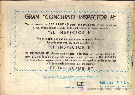 Tebeos: EL PRINCIPE DE RODAS - Nº 51 - LOPEZ BLANCO - ED. MAGA 1960 - ORIGINAL, NO FACSIMIL - Foto 2 - 11032584