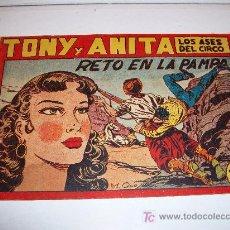 Tebeos: TONY Y ANITA (MAGA), 91, ORIGINAL. Lote 11065546
