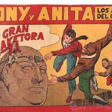 Giornalini: TONY Y ANITA Nº 61 EDITORIAL MAGA 1954 ORIGINAL. Lote 18776919
