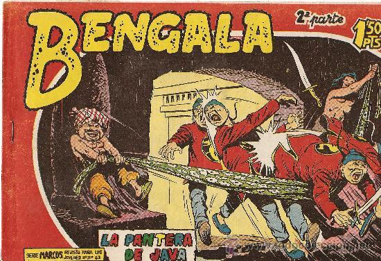 BENGALA 2ª PARTE Nº 6 (Tebeos y Comics - Maga - Bengala)