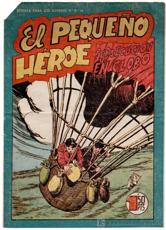 EL PEQUEÑO HEROE Nº 117, MUY DIFICIL (Tebeos y Comics - Maga - Pequeño Héroe)