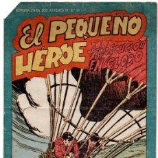 Tebeos: EL PEQUEÑO HEROE Nº 117, MUY DIFICIL. Lote 11950215