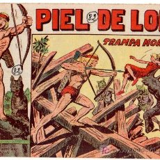 Tebeos: PIEL DE LOBO Nº 82 ORIGINAL , MAGA 1959, MUY DIFICIL. Lote 12010039