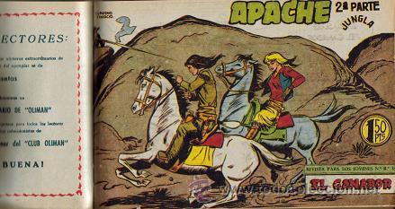 TOMO ENCUADERNADO APACHE 2ª PARTE (MAGA) 1960-1961 INCONPLETO (Tebeos y Comics - Maga - Apache)