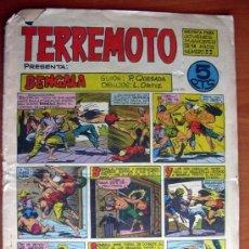 Tebeos: TERREMOTO Nº 22. Lote 12601174