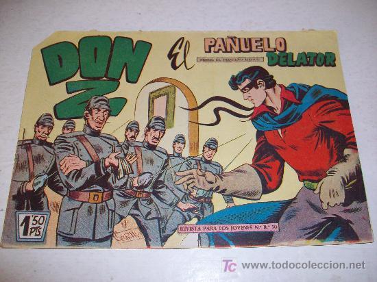 EDITORIAL MAGA: DON Z (ORIGINAL), Nº 3 (Tebeos y Comics - Maga - Don Z)