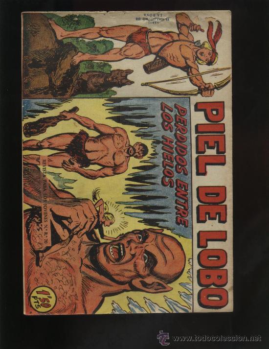 PIEL DE LOBO Nº 17 (Tebeos y Comics - Maga - Piel de Lobo)