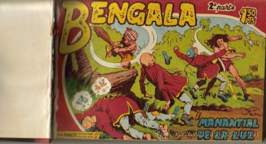 BENGALA II ( 2ª PARTE) ( MAGA ) ORIGINAL 1960-1961 TOMO ENCUADERNADO (Tebeos y Comics - Maga - Bengala)