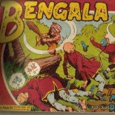 Tebeos: BENGALA II ( 2ª PARTE) ( MAGA ) ORIGINAL 1960-1961 TOMO ENCUADERNADO. Lote 26924352