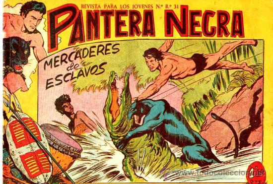 PANTERA NEGRA Nº 17 (ORIGINAL) (Tebeos y Comics - Maga - Pantera Negra)