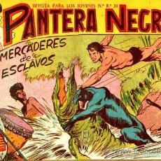Tebeos: PANTERA NEGRA Nº 17 (ORIGINAL). Lote 14452860