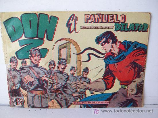 EDITORIAL MAGA. DON Z (ORIGINAL), Nº 3 (Tebeos y Comics - Maga - Don Z)