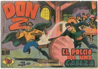 DON Z Nº16,ED.MAGA (Tebeos y Comics - Maga - Don Z)