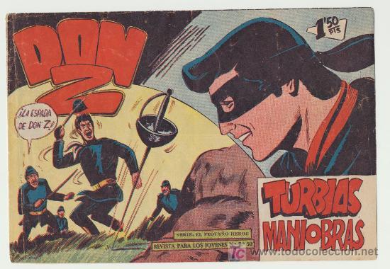 DON Z Nº 65. (Tebeos y Comics - Maga - Don Z)