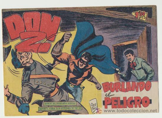 DON Z Nº 38. (Tebeos y Comics - Maga - Don Z)