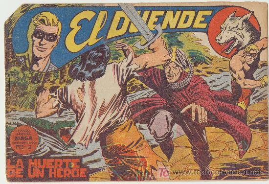 EL DUENDE Nº 44. (Tebeos y Comics - Maga - Otros)