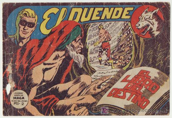 EL DUENDE Nº 40. (Tebeos y Comics - Maga - Otros)