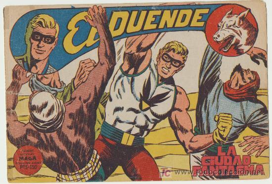 EL DUENDE Nº 17. (Tebeos y Comics - Maga - Otros)