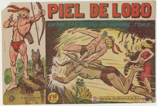 PIEL DE LOBO Nº 47. (Tebeos y Comics - Maga - Piel de Lobo)