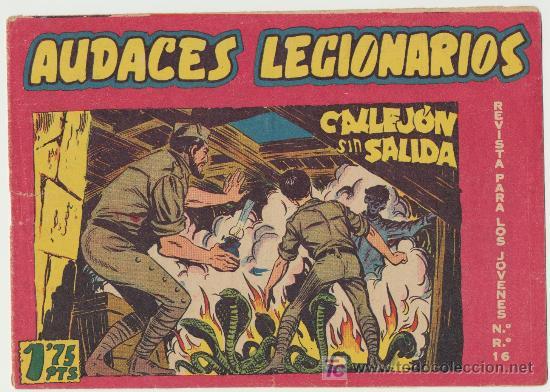 AUDACES LEGIONARIOS Nº 26. (Tebeos y Comics - Maga - Otros)
