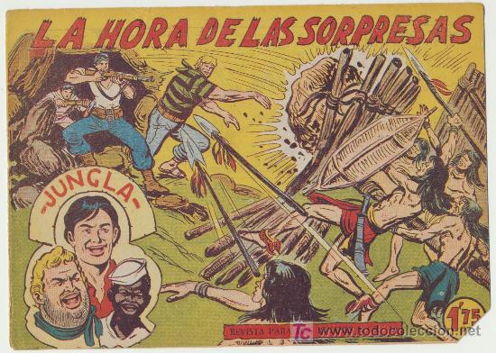 JUNGLA Nº 35. (Tebeos y Comics - Maga - Otros)