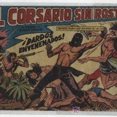 Tebeos: EL CORSARIO SIN ROSTRO Nº 25. MAGA 1959.. Lote 15414492