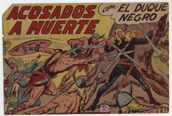 EL DUQUE NEGRO Nº 32. (Tebeos y Comics - Maga - Otros)