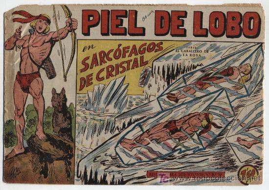 PIEL DE LOBO Nº 19. (Tebeos y Comics - Maga - Piel de Lobo)