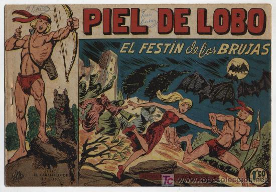 PIEL DE LOBO Nº 26. (Tebeos y Comics - Maga - Piel de Lobo)